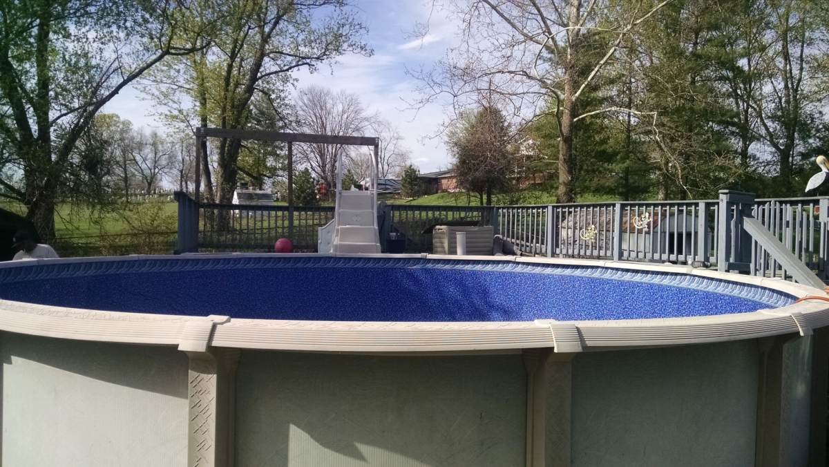 New Pool in Edgwood, KY
