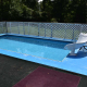Kayak pool liner change and slide installation, Walton, KY